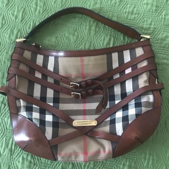 Burberry Handbags - Burberry Dutton Hobo Bag